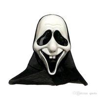 plastik iskelet kafatası toptan satış-Cadılar bayramı Başkanı Maske Plastik Kafatası Maskesi İskelet Cadılar Bayramı Cosplay Kostüm Için Hayalet Maskeleri