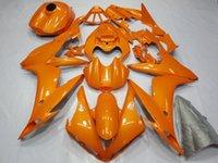 laranja r1 venda por atacado-Laranja ABS Injection Molding Kit Fairing Carroçaria de Yamaha YZF R1 2004-2006 04 05 06 carenagens pré-perfurados motocicleta