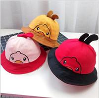 901bdfbae7e50 Wholesale kids sun bucket hats online - Girls Boys Sun Hat Summer Cotton Hat  Kids Child