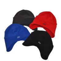 1d28b680cb1b Wholesale fleece beanie for sale - Group buy Solid Colors Embroideried Fleece  Hat Casual Outdoor Cycling