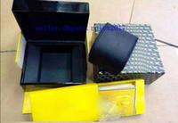 ingrosso vendicatore di mens orologi-grandi accessori di alta qualità di lusso da uomo 1884 scatole di documenti originali scatole da boxer Navitimer Super Avenger Super Ocean Black