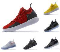 zapatillas kevin durant al por mayor-zapatos de diseño KD 11 Zapatillas de deporte Kevin Durant 11s Zoom para hombre Zapatillas deportivas de lujo blancas Zapatillas de deporte bajas KD EP Elite