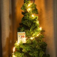luzes de sino de natal ao ar livre venda por atacado-Cordas LED Cordas de Iluminação da árvore de Natal 2 M 200 Lâmpadas EUA / UE / AU / UK Plug Holiday Iluminação Decoração