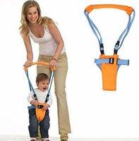 correa de bebé niño pequeño al por mayor-Cinturón para caminar para bebés Correa ajustable Correas Arnés para correas para bebés y niños pequeños Asistente para caminar de aprendizaje de seguridad para bebés para 6-14 m