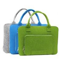 reise-taschentaschen fächer groihandel-Laptop-Tasche für Frauen-Männer Mehrere Compartments Filz Laptop-Taschen-Tasche Schultertasche Tasche Computer-Handtasche für Arbeit Schule Reisen