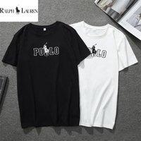 t-shirts ralph großhandel-Sommer-Designer-T-Shirts Herren-Oberteile Buchstabe T Shirt der Männer Kleidung Marken-Kurzschluss-Hülsen-Shirt G8Ralph Lauren