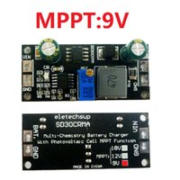 ingrosso carica batteria 7.4v-Regolatore solare MPPT 1A 3.2V 3.7V 3.8V 7.4V agli ioni di litio LiFePO4 titanato Modulo caricabatteria