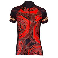 Short Sleeve Rose Lady Pro Cycling Jersey
