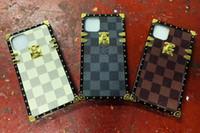 capas para iphone4 venda por atacado-Caixa do telefone do designer para Iphone 11 Pro max X / XS XR XS MAX 7plus 7 8 Plus 6P / 6SP 6 / 6s Luxo Telefone Case Marca Iphone com Lanyards A07