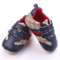 Wholesale Baby Shoes Newborn Boys Girls First Walkers Toddler Infants Antislip Casual Shoes sneakers Months
