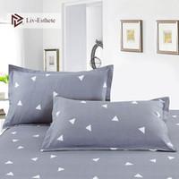 Wholesale beauty bedding resale online - Liv Esthete Classic Geometric Pillowcase Decorative Beauty Floral Pillow Case Cover Bedding For Women Men x74cm