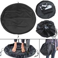 takım çantası toptan satış-50 cm Sörf Wetsuit Dalış Değişim Çanta Suit Mat Su Geçirmez taşınabilir floding Taşıma Kılıfı Su Spor Yüzme Aksesuarları saklama çantası FFA1410
