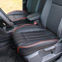 ingrosso rilievo completo per auto-Auto anteriore posteriore regolabile Sedile 3D Deluxe Car PU Leather Full Cover Surround stuoia del rilievo ammortizzatore della sedia Four Seasons