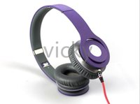 ingrosso bluetooth cuffie viola-Prodotto viola di Justin Bieber vendita pazzesca Cuffie Auricolare Bluetooth senza fili Oltre Scheda audio con licenza Funzione FM Cavo audio Doppio utilizzo