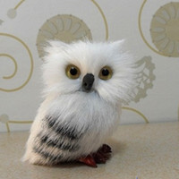 Wholesale stuff toy owl for sale - Group buy Cute Mini Props Owl Ornaments Hanging Pendant Up Gifts Cute Christmas Soft Plush Stuffed Doll Collectible Boys Girls Plush Toy