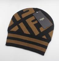 Wholesale solid cotton beanie resale online - Men Women Embroidery Bobble Hats Hip Hop Dancing Sport Knitted Hat Winter Women Caps Skullies Bonnet Beanies