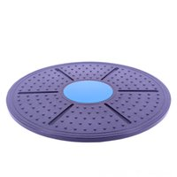 Wholesale massage twister resale online - Fitness Waist Twisting Disc Balance Board Physical Equipments Fitness Supplies Massage PlatesBody Shaping Twister Training Boar