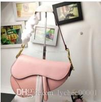 geldbörse handyfach großhandel-2019 berühmte designer frauen handtasche neue brief umhängetasche hochwertigem echtem leder umhängetasche luxus satteltasche