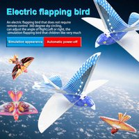 fernvögel großhandel-Fernbedienung Spielzeug RC Flying Bird Flugzeug Flattern Flügel Flug Modell 2,4 GHz Drohne Kinder Geschenke BM88