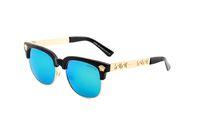 frauen halbrahmen gläser großhandel-Wayfarer Top Fashion Brand 2166 Sonnenbrillen Evidence Sonnenbrillen Brillen Eyewear Mens Womens Sunglasses