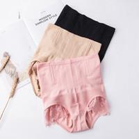 ingrosso lingerie piccole donne-biancheria intima delle donne mutandine vita alta vita alta addome intimo femminile alveare fianchi che modella pantaloni slip in pizzo lingerie