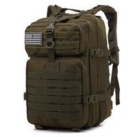 01e35a4bce 45L grande capacité armée armée sacs à dos tactiques sacs d'assaut militaire  en plein air pour le sac de chasse camping trekking