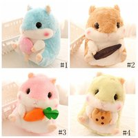 Wholesale doll boy girl resale online - Hamster Plush Toy cm cm Stuffed Animal Gerbil Plush Toy Pet Hamster Boy Girl Gift Doll Novelty Items GGA1380