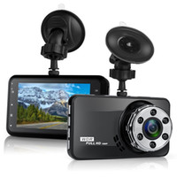 Wholesale motion dashboard resale online - Dash Cam P Full HD Car DVR Dashboard Camera Driving Recorder with LCD Screen Degree Wide Angle WDR G Sensor Motion Detec