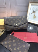 Wholesale boys leather wallets for sale - Group buy New high end quality boy leather wallet long business fashion purse men handbag men s clutch bag longpursemenmensbag