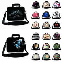 mi sacos venda por atacado-Bolsa para laptop com alça de ombro para MI ar / MacBook Air Pro / HP / ASUS 10 12 13 14 15 17 Neoprene Laptop impermeável Messenger Bag