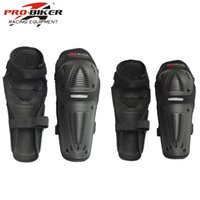 Wholesale knee pads skate protective gear resale online - 4pc s Motorcycle knee elbow protective pads Motocross skating knee protectors riding protective Gears pads protection