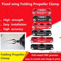 propellerwelle großhandel-Klappbarer Propellersitz / Propellerklemme von Mayatech / Geeignet für Propellerwelle mit Festflügelgewinde