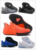 ingrosso arancione scarpe kb-2019 nuovo arrivo Kobe VI 6 scarpe da basket uomo per l'alta qualità KB 6 formazione bianco nero blu arancione atletica scarpe da ginnastica taglia 7-12
