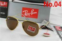 Wholesale aviator polarized resale online - Classic RayS Polarized Sunglasses Men Women Pilot Sunglasses UV400 Eyewear Aviator Glasses Driver Bans Metal Frame Su mm mm