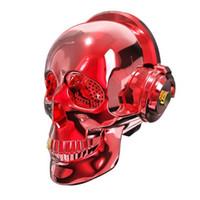 bluetooth pour vista achat en gros de-Vista V7 Skeleton 2 Generation Bluetooth Speaker Lampe colorée créative Sans fil Petit son Subwoofer Activité Explosion