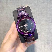 diamantes de aço novo relógio de mulher preto venda por atacado-Nova alta qualidade moda feminina assista rosa de ouro / prata / preto de aço inoxidável relógio de luxo senhora sexy relógio de pulso modelos populares com diamantes