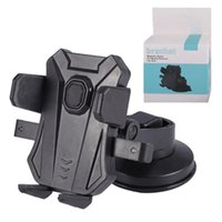 Wholesale universal phone cup holder for sale – best phone holder For Samsung S10 iphone X Universal Suction Cup Sucker Car Windshield Mount stand Dashboard Stand Glass Sticky Bracket Stents