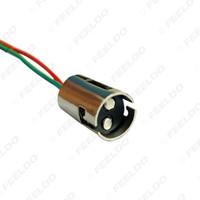 ingrosso ba15d adattatore-vendita all'ingrosso auto spina adattatore ba15d LED sostituzione lampadina presa con cablaggio estensione # 958