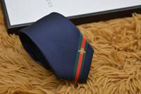 Wholesale handmade arrows resale online - Men Business Formal Tie Wedding Fashion Ties Leisure Slim Tie Narrow Arrow Necktie Skinny Letter Date Tie Men Party Casual Neck Ties