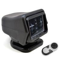 Wholesale wireless led remote controlled spotlight resale online - 1Pcs W DC V LED Searchlight Wireless Remote Control Spotlight for Car Boat Vehicles Wrangler Beam