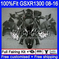 Wholesale matte black fairings for sale - Group buy Injection For SUZUKI GSXR Hayabusa HM GSX R1300 GSXR1300 Fairing Matte black