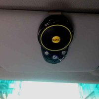 installieren bluetooth großhandel-Langlebig nützlich drahtlose tragbare Sonnenblende Demontage Freisprecheinrichtung Kfz Bluetooth Car Kit universal praktisch einfach zu installieren