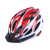 Wholesale bicycle prices resale online - Promotional price universal summer riding helmet Bicycle protective helmet Male and female mountain bike Motocross