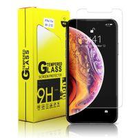 ekran koruyucuları toptan satış-IPhone 11 Pro için Max X Xr Xx 8 7 Artı Samsung Not 8 S8 Ekran Koruyucu Temperli Cam Ekran Koruyucuları Filmi