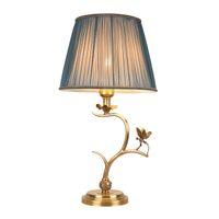 lüks masa lambaları oturma odası toptan satış-Yeni varış Amerikan Retro bakır tablo dekoratif lüks klasik masa lambası otel villa oturma odası yatak odası led masa lambaları lambalar