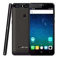 leagoo phone al por mayor-LEAGOO KIICAA POWER Android 7.0 Cámara dual Teléfono móvil 4000mAh 5,0 pulgadas MT6580A Quad Core 2GB RAM 16GB Huella digital Smartphone