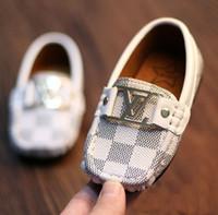 bebek erkek çocukları için stil ayakkabıları toptan satış-Promosyon Sıcak Kız bebekler erkek Çocuklar Yenidoğan Bebekler Spor ayakkabılar koko için Tekne Stil Bebek Makosenler Bebek PU Deri Yumuşak Sole Shoes