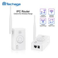 extensão do repetidor do roteador da gama wifi venda por atacado-Camera Range Extender Sopport 2.4G IP IPC Router Repetidor para o Sistema sem fio da câmera melhorada Distância de transmissão WiFi Range Extender ...