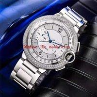 Wholesale swiss diamond 18k for sale - Group buy Top ROTONDE DE Mens Watch Swiss Automatic vph K platinum L Steel Diamond Bezel eye sapphire crystal Super Water Resistant