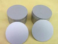 metal redondo chino al por mayor-Venta caliente espuma de titanio puro hoja redonda redonda de chapa metálica Placa de disco Proveedor chino espuma de metal